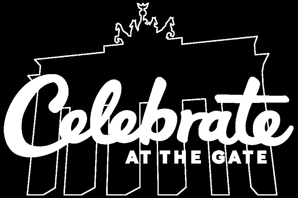 Celebrate at the gate - logo