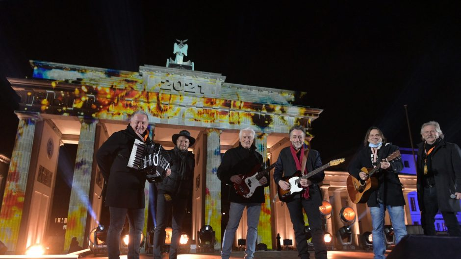 Silvester in Berlin - Höhnes am Brandenburger Tor
