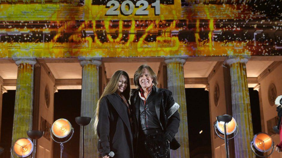 Silvester in Berlin - Jürgen & Jolina Drews